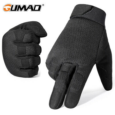 Multicam Full Finger Gloves Riding Airsoft Hunting Shooting Driving Work Outdoor