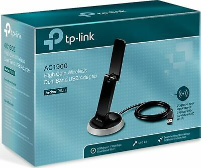 TP-Link 1900mbps Dual Band Wireless USB 3.0 Adapter WIFI WPS AC1900 Archer T9UH