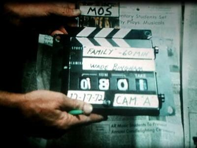 16mm Film: RAW 1970's FILM CREW PRODUCTION OUTTAKE FOOTAGE - VERY RARE!!!