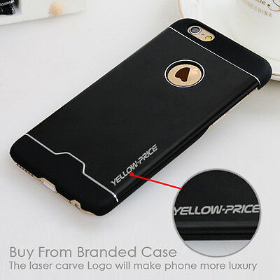 Branded Ultra-thin Aluminum Metal Case Back Cover Skin for Apple iPhone 6 4.7''