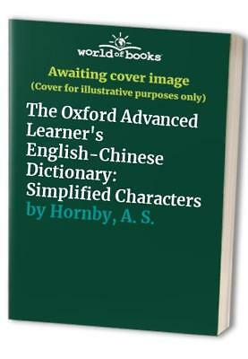 The Oxford Advanced Learner's English-Chinese Dict... by Hornby, A. S. Paperback