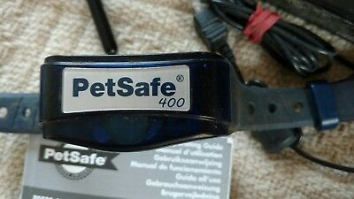 Two PetSafe 400 Remote Control Collars
