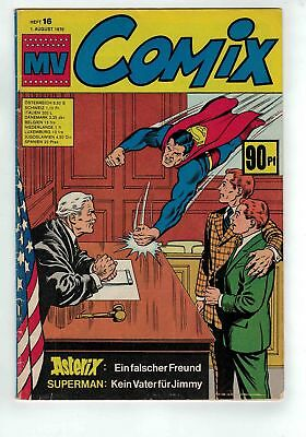 MV COMIX Heft 16 vom 01.08.1970 Asterix - Jimmy Olsen - Superman