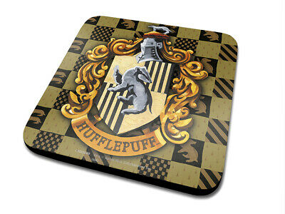 Harry Potter - Hufflepuff Crest - Single Coasters - Sottobicchiere