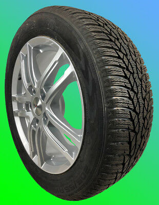 4 alloy winter wheels VOLVO V60 Cross Country 245/45 R18 100V NOKIAN