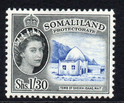 Somaliland 1/30 Stamp c1953-58 Mounted Mint (68)