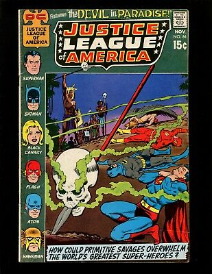 Justice League of America #84 FN Swan Dillin Batman Black Canary Superman Flash