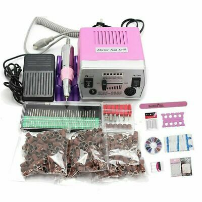 30000 RPM Professional Manicure Electric Drill File Nail Art Pen Machine + 7Gift