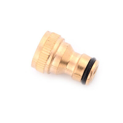 """1/2"""" Garden Brass Thread Hose Tap Adaptor Water Pipe Connector Tube Fitting Nice"""