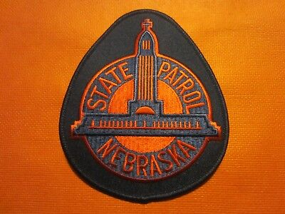 Collectible Nebraska State Police Patch,New