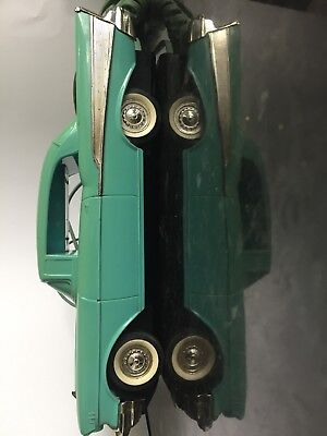 General Motors Telemania Blue '57 Chevy Landline Telephone Push Button Working