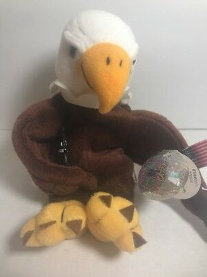 COCA COLA brand Reegle the Eagle USA bean bag plush International collection