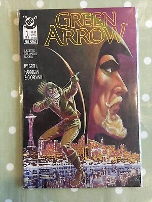 Green Arrow Issue 1 Feb 88 Comic Book