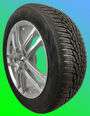 4 alloy winter wheels OPEL Astra J 5x105 205/50 R17 93V NOKIAN