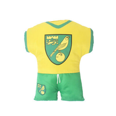 Official Norwich City Fc Kit Cushion