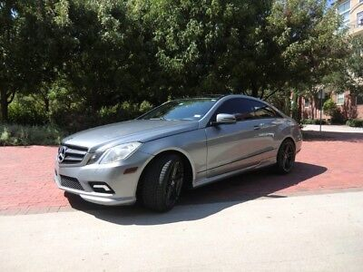 2010 Mercedes-Benz E-Class  RARE 2010 E550 COUPE AMG .CUSTOM WHEELS AND EXHAUST .ECU TUNE.LOADED.