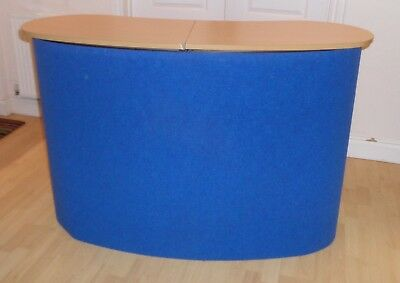 Bulk Buy/Job Lot 4 Portable POP UP Exhibition Display Counters and spares