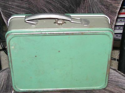 Vintage 1940's All Metal/Steel Lunchbox