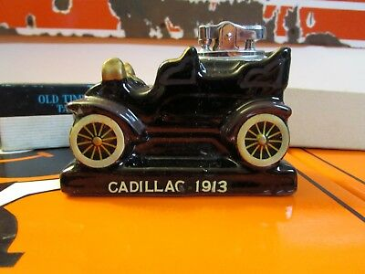 Vintage Old Timers Auto Show Table Lighter * Amico * 1913 Cadillac.. NIB
