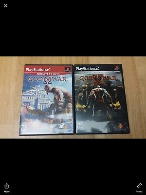 PS2 God Of War 2 Games *used Great Condition*