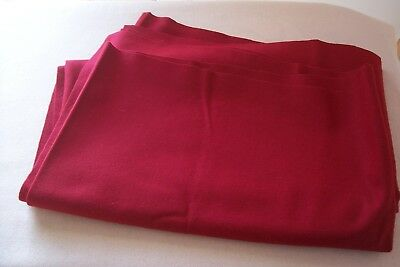 Vtg  Wool Dress/Suit Weight Fabric Dolls Quilting Millinery Crafts