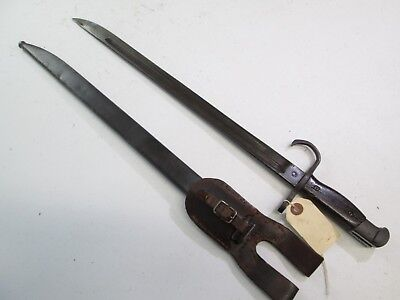 Wwii Japanese Bayonet Nagoya Mark With Scabbard And Frog #w111