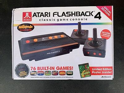 Atari Flashback 4 Classic Game Console Special Edition - 76 Built-in Games - NEW