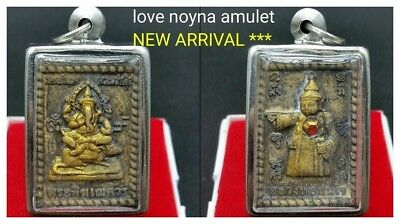 Phra Somdej Lord Ganesha Thep Thanjai Bring Luck Rich Success Wealth Thai Amulet