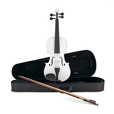 Student Full Size Violin White by Gear4music
