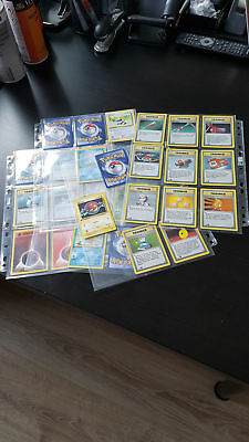 34 Pokemon Karten Sammlung 1st First Edition - Base Set Rare