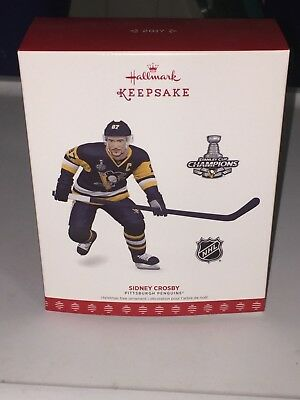 2017 Hallmark Keepsake NHL Pittsburgh Penguins Sidney Crosby FREE SHIPPING