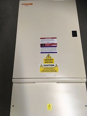 250 Amp 12 Way Distribution Board Merlin Gerin 3 Phase + Neutral