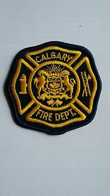Calgary Fire Department Patch