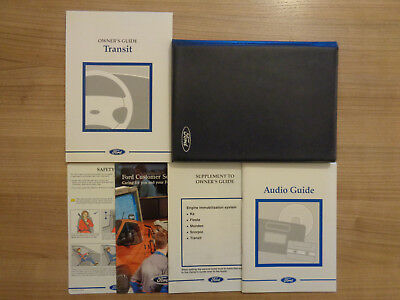 Ford Transit Owners Handbook/Manual and Wallet 94-00