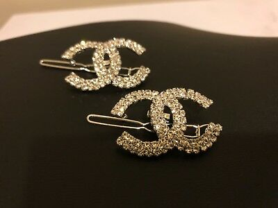 Chanel VIP GIFT hair clips with purchase set of 2. New!