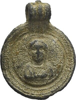 Lanz Byzantine Empire Wallfahrt Pendant Virgin Mary Lead Pb ±Gsp1024