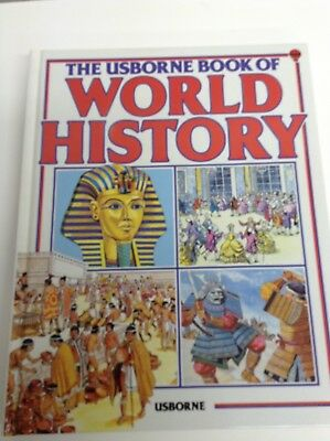 Usborne Book of World History- Millard/ BRAND NEW- Homeschool / FREE SHIPPING!!