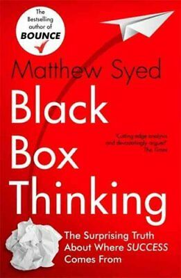 Black Box Thinking Marginal Gains and the Secrets of High Perfo... 9781473613805