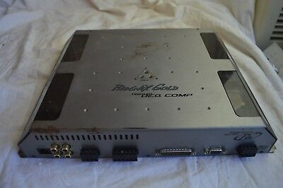 Vintage Phoenix Gold Titanium Deq Comp Digital Graphic Equalizer Eq Tideq