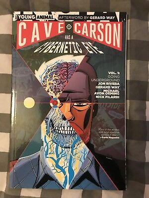 Cave Carson Has A Cybernetic Eye Vol 1 Graphic Novel Young Animal Gerard Way