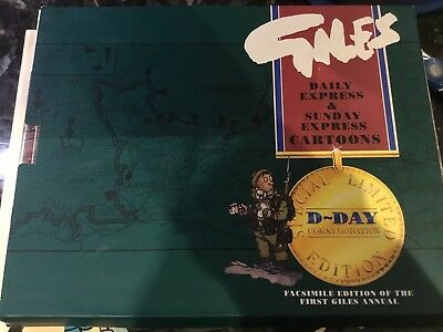 Giles Cartoon Annual Collectors Edition D-DAY