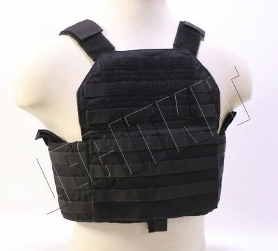 PROTOTYPE Eagle Industries FBI HRT Plate Armor Carrier MEDIUM/LARGE MOLLE Black