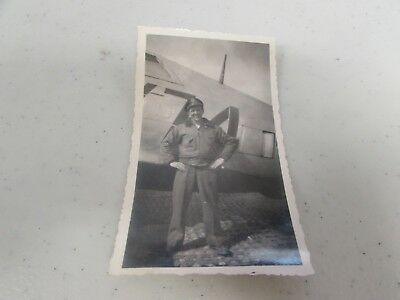 WWII US Army Air Corps 87th fighter squadron original period picture   #34