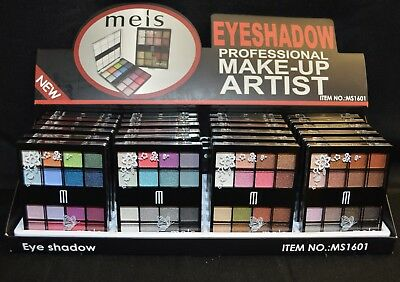 Eyeshadow job lot wholesale box of 24 pcs as pictured brand new Cosmetics Makeup