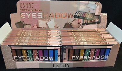 Eyeshadow job lot wholesale box of 12 pcs as pictured brand new Cosmetics Makeup