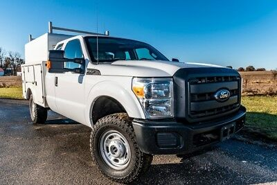 2012 Ford F350 XL Used service utility