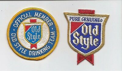 Old Style beer patches