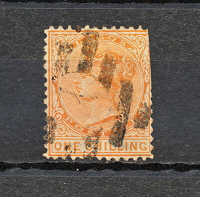 (Nnaf 473) Lagos 1875 Used Damaged