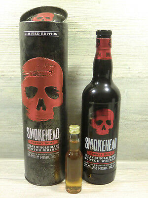 Flaschenteilung Sample Probe 4 cl SMOKEHEAD Sherry Bomb 48%vol Limited Edition