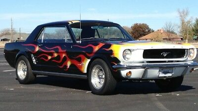 1966 Ford Mustang  1966 Ford Mustang GT 2dr with a 289 automatic